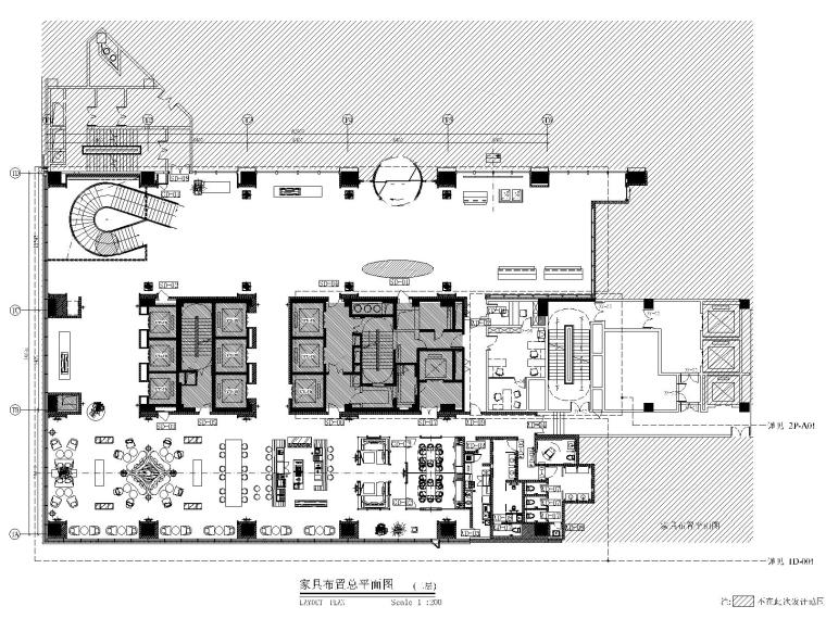 苏州合景万怡酒店公区CAD施工图+效果图