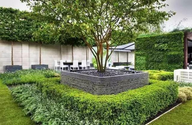 图文解析|景观植物设计方法