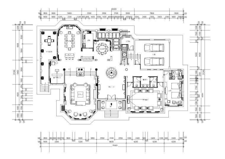 [德高出品]-1000多平欧式别墅全套施工图