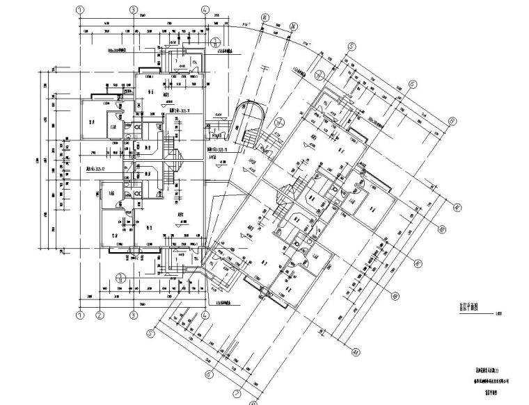 复式公寓建筑户型设计图