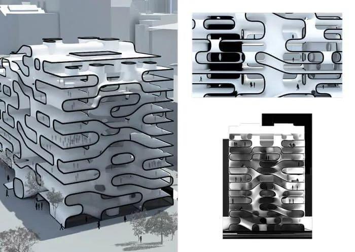 10個「未來城市」建筑設計丨附50套設計資料_60