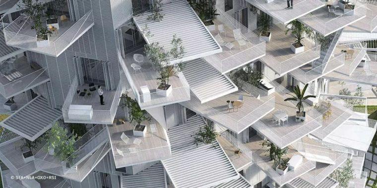 10個「未來城市」建筑設計丨附50套設計資料_36