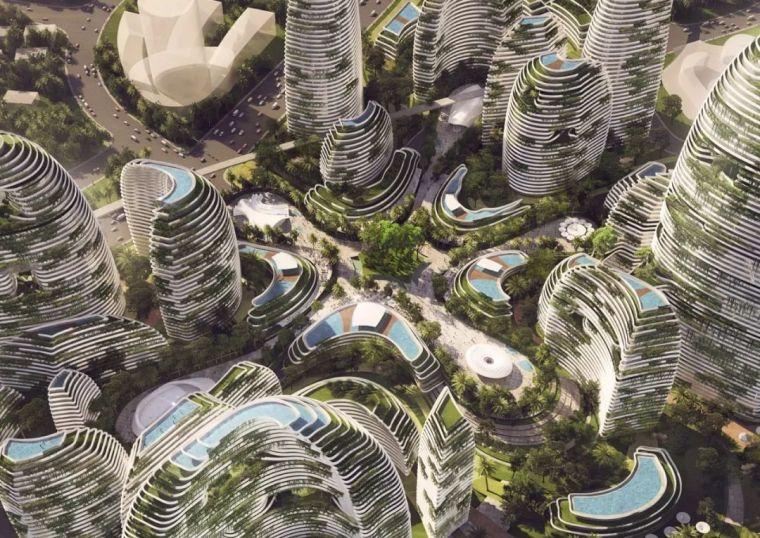 10個「未來城市」建筑設計丨附50套設計資料_5