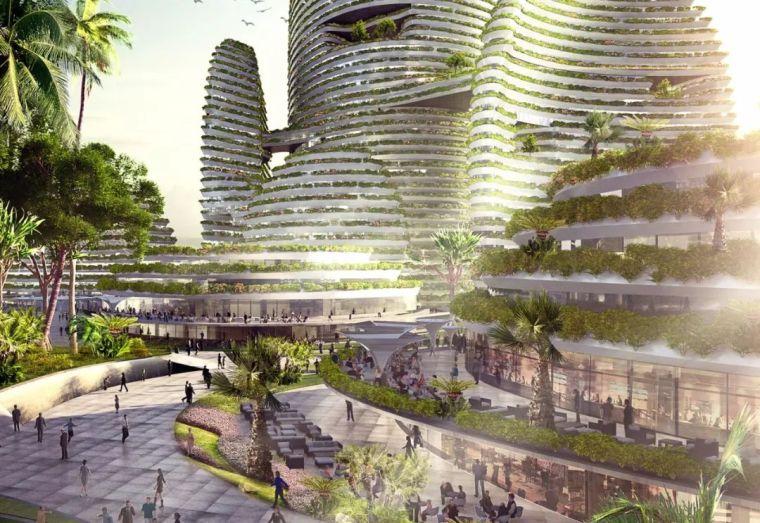 10個「未來城市」建筑設計丨附50套設計資料_7
