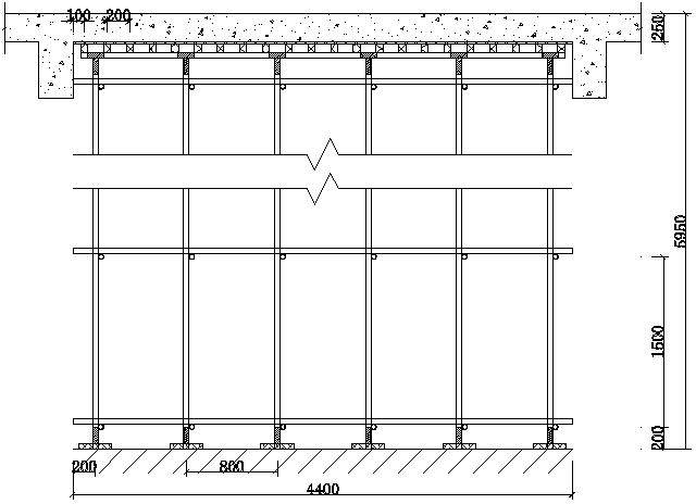 [杭州]高大模板支架专项施工方案论证方案版
