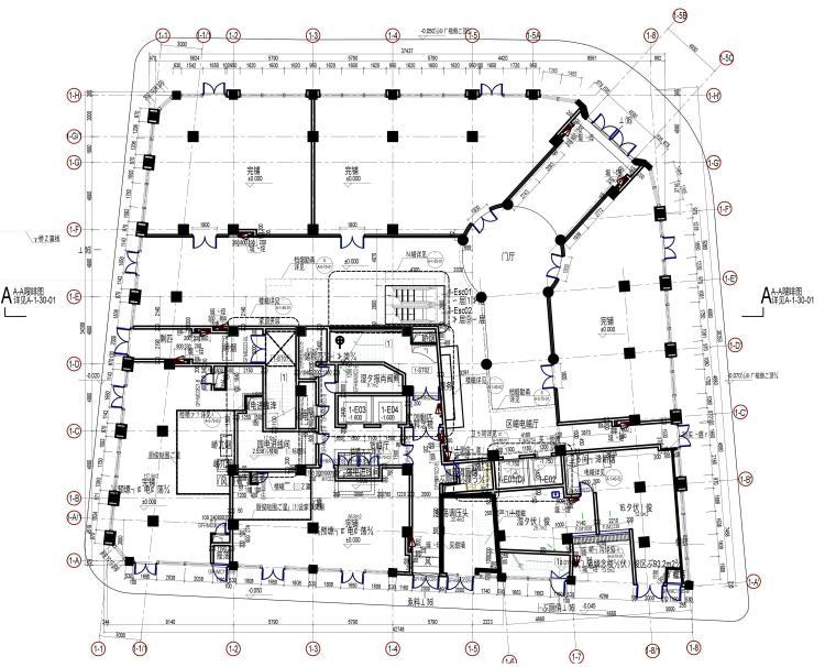 [上海]Greater-新百伦外滩中央广场店施工图