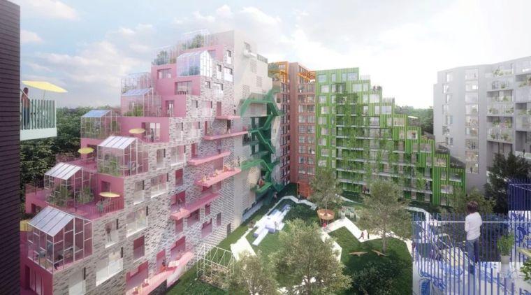 10個「未來城市」建筑設計丨附50套設計資料_49