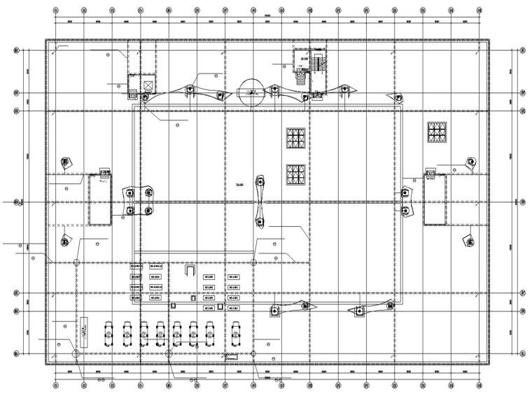 电商物流园中央大厨房电气设计(含智能化)