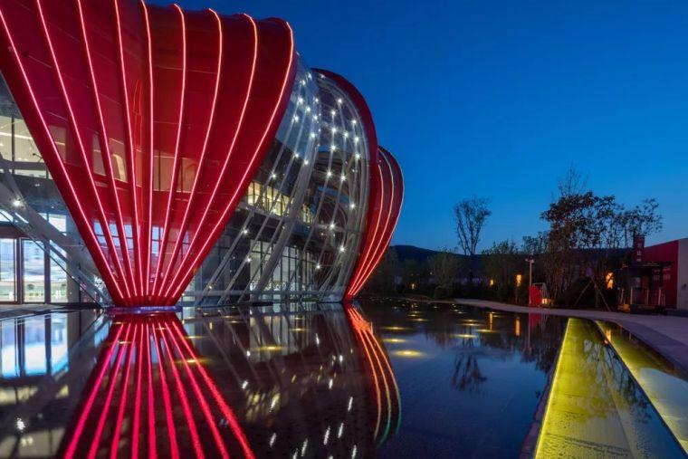 红色文化艺术中心|延安万达城_21