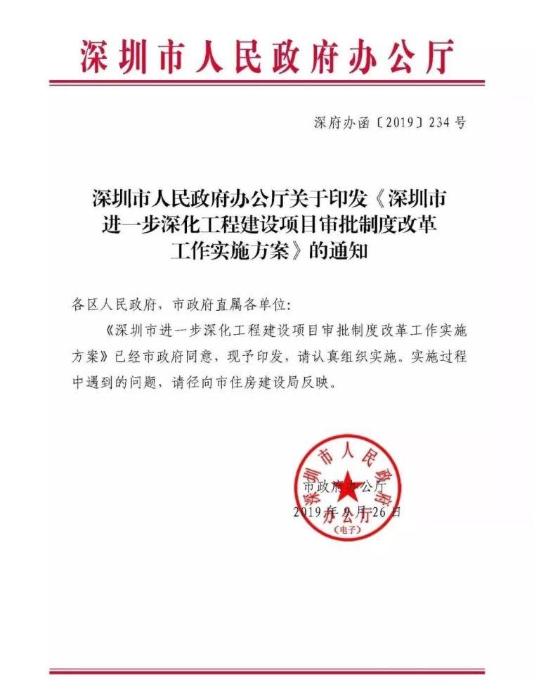 深圳政府:取消施工图审查建立BIM审批平台