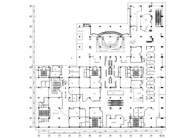 [沈阳]长安里商业街区改造施工图+PPT方案