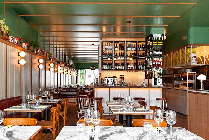 披萨餐厅装修设计,为消费者提供休闲的就餐