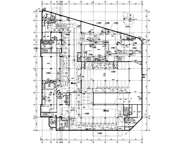 九层商业办公综合楼空调通风及防排烟施工图