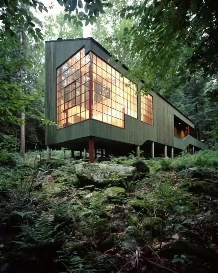 建筑设计中的虚实对比究竟是什么?