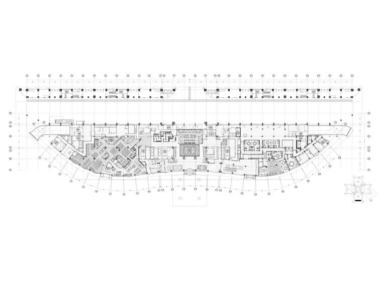 [上海]五星商务洲际酒店施工工程项目施工图
