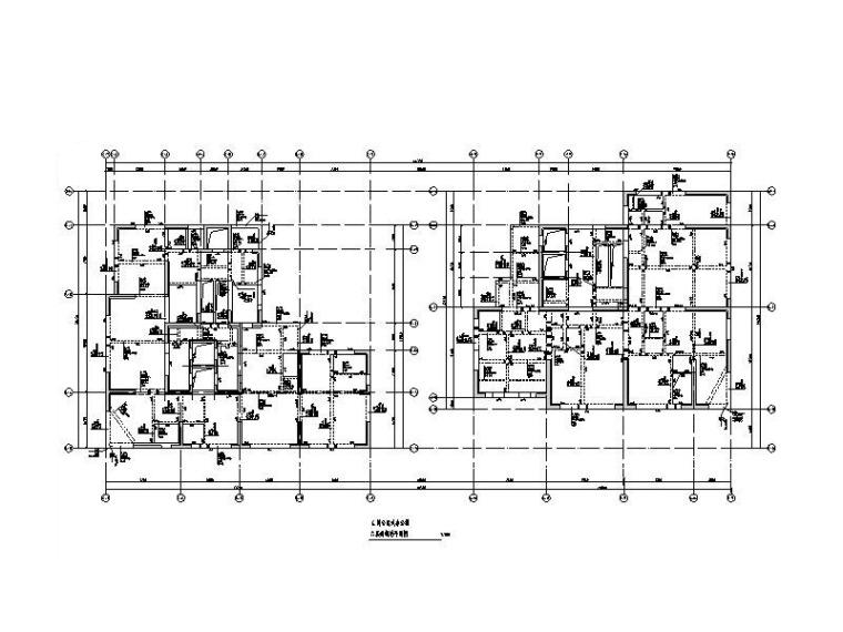 132m剪力墙结构公寓式办公楼结构施工图