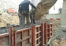 混凝土浇筑