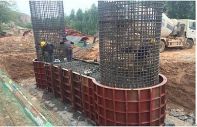 桥梁系梁、墩柱、盖梁施工技术培训