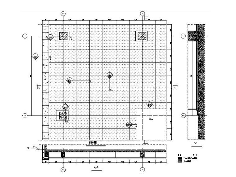 铝板吊顶系统标准图