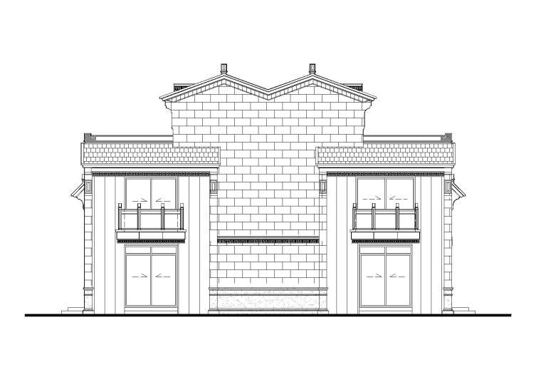 [江苏]泰禾姑苏院子建筑设计施工图(CAD)