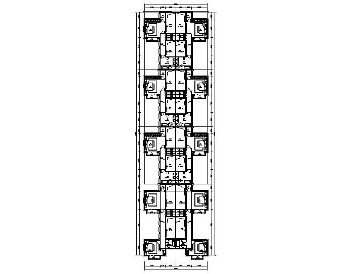 合院二層平面圖