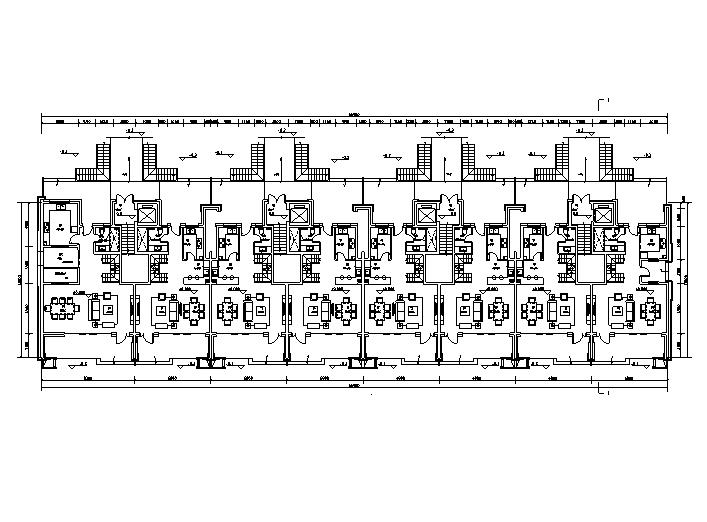 疊墅區一層平面圖