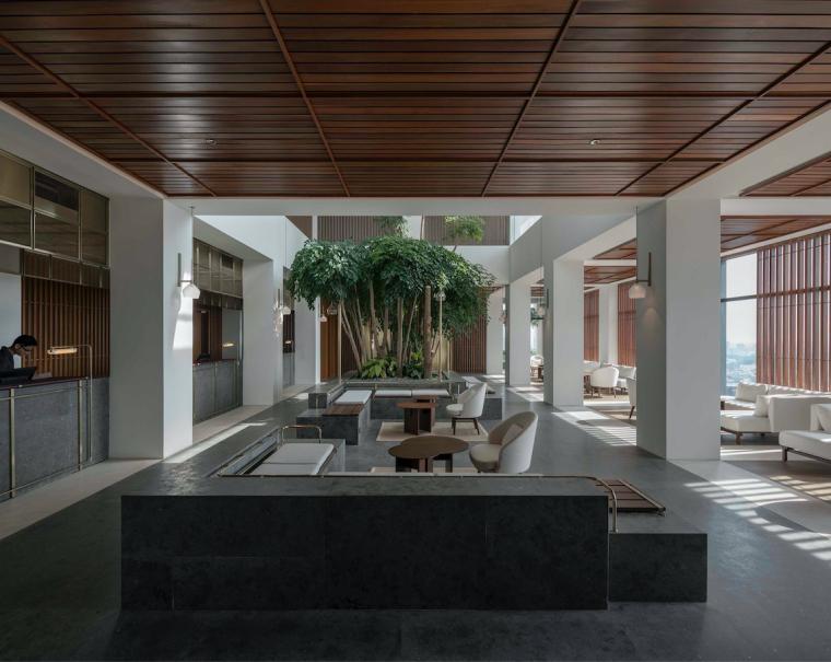 吉隆坡15000㎡阿丽拉孟沙酒店设计2019