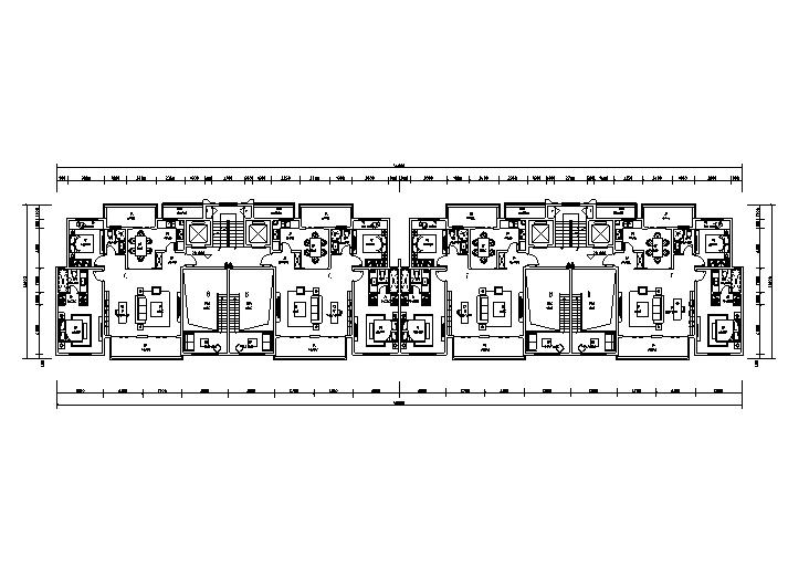 高層區36#十一層平面圖
