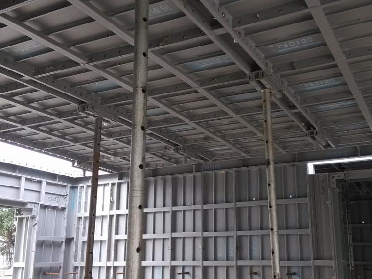 框架剪力墙结构高层铝合金模板专项施工方案