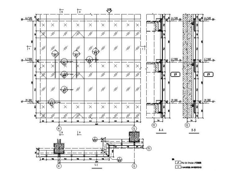 单元式幕墙系统标准图