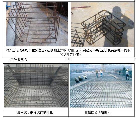 钢筋工程标准做法及质量验收标准