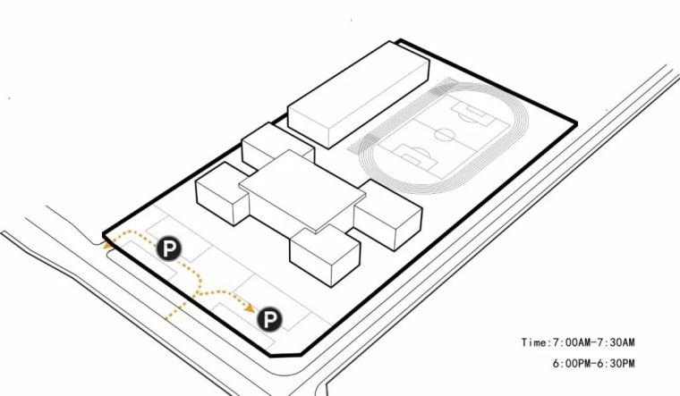 方形的组合,产生多层次的互动空间_30