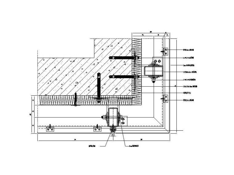 铝板幕墙系统标准图