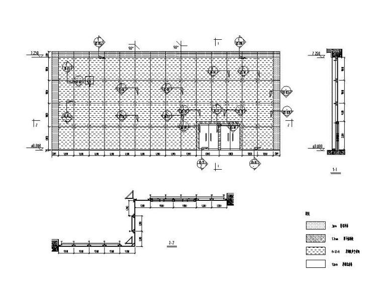 驳接爪式幕墙系统标准图(全玻幕墙)