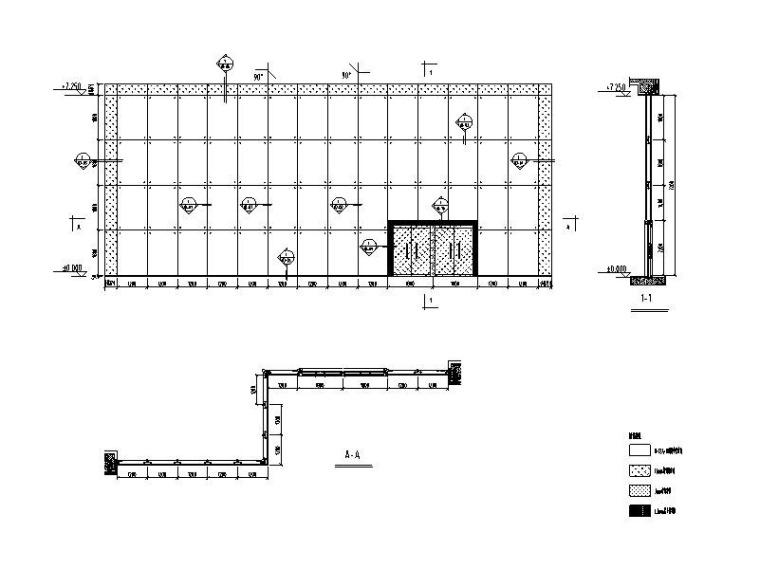 拉索幕墙系统标准图(公司标准)
