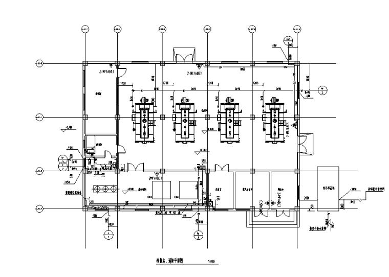 贵州电商物流园锅炉房给排水施工图