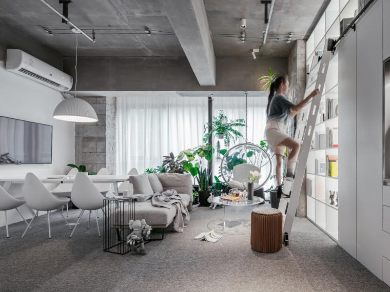 安徽简约恬静的办公空间