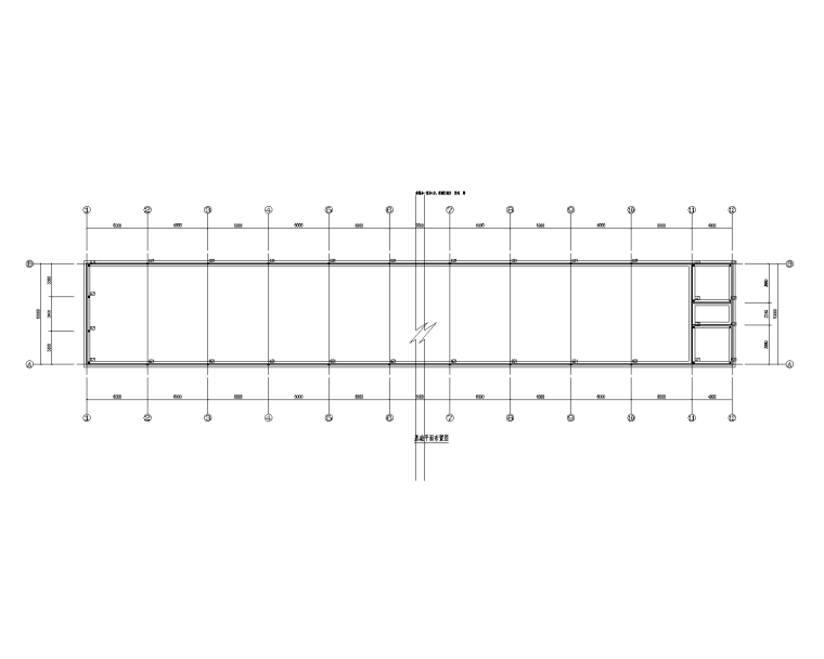 砖混结构鸡家庭农场结构施工图(钢柱钢屋架)