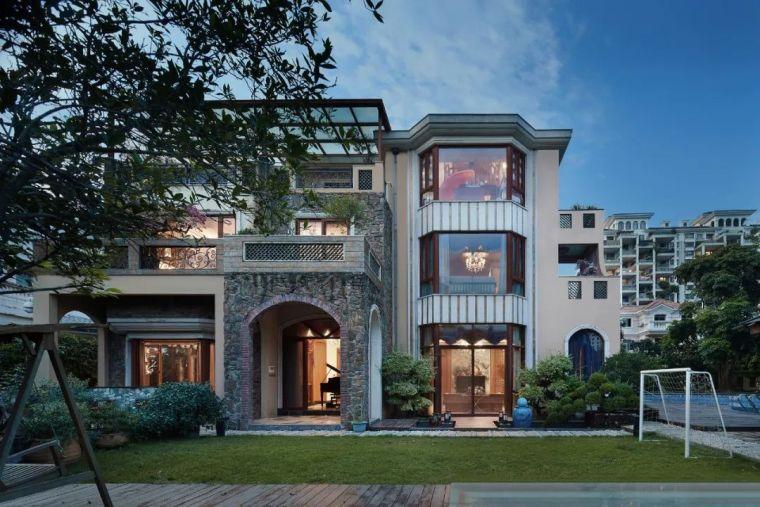 1000㎡别墅设计:幸福优雅的生活