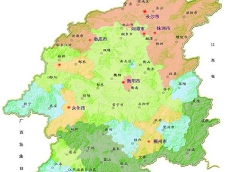 湘江流域科学发展总体规划(清楚明了)