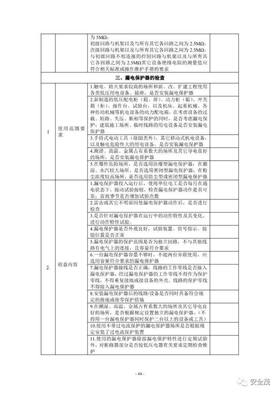 超全的安全生产事故隐患排查手册 2019新_44