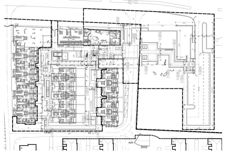 [上海]现代风格示范区景观CAD施工图