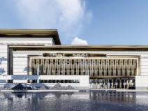 [四川]中式示范區西園國賓·壹號院建筑模型