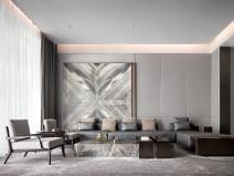 充满现代奢华空间的住宅