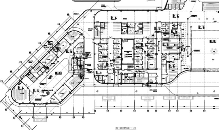 湖南长沙人民医院暖通设计图纸