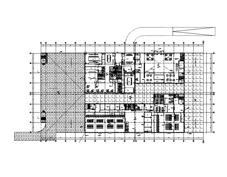 贵州电商物流园交易厅给排水施工图
