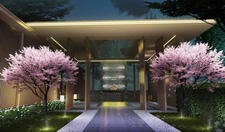 [四川]万科云城新中式展示区景观设计方案