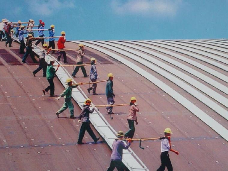 [遵义]机场航站楼金属屋面工程施工组织设计