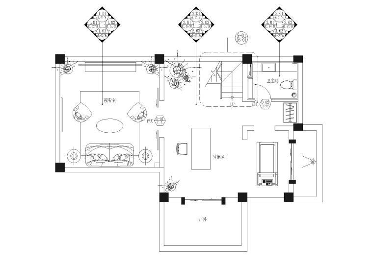 [云南]高文安-大理王宫别院A115户型施工图