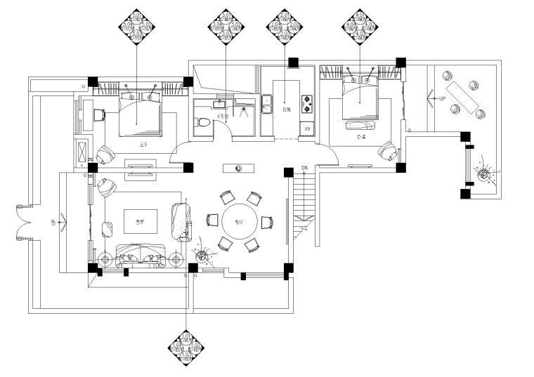 [云南]高文安-大理王宫别院下叠户型施工图